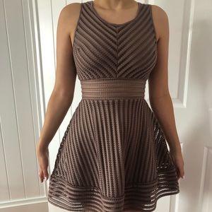 Charlotte Russe Mauve purple dress